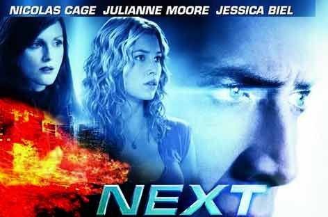 Next - Prekognisyon Konulu Film